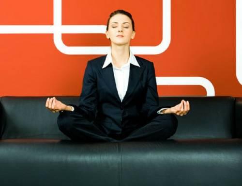 O dia a dia do executivo e a meditação